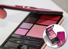 Természetes, de intenzív hatás: Yves Saint Laurent sminkpaletta, szemhéj festékkel, rúzzsal, pirosítóval