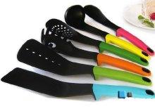 6 db-os színes konyhai eszközcsomag