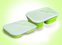 Tartsd frissen az ételeid! Könnyen tisztítható, 2 kamrás, minőségi ételtároló doboz, műanyag evőeszközzel