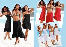4 az 1-ben csinos, mutatós nyári ruha hölgyeknek, amely többféleképpen is hordható