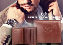 Sergio Tacchini férfi bőr pénztárcák