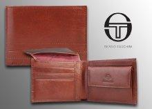 Sergio Tacchini vöröses barna férfi pénztárca