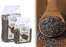 Fekete chia mag 100 g-os és 200 g-os kiszerelésben
