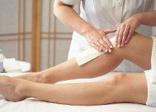A lábszár vagy a teljes láb gyantázása