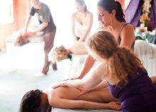 Pine touch gyógyhatású masszázs workshop