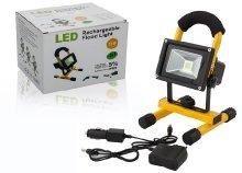 Hordozható akkumulátoros LED reflektor