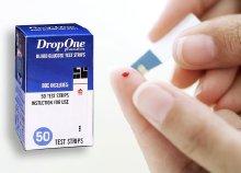 DropOne vércukormérő testcsík 50 db