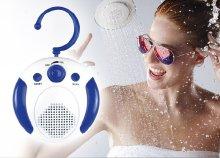 """""""Fresh"""" zuhanyrádió FM rádióval és akasztóval"""