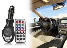 Autós MP3 FM Transmitter