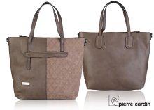 Pierre Cardin csinos, női bevásárlótáska két fogantyúval, levehető vállpánttal