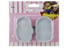 2 db-os Mr & Mrs Minion sütemény kiszúró forma