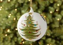 Festhető és díszíthető karácsonyi gömbdíszek hatféle festékkel