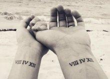 Páros tetoválás a WAX Szépségszalonban