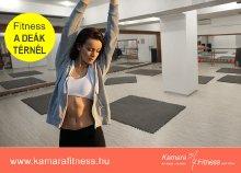 4 alkalmas bérlet a Kamara Fitnessbe