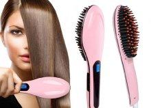 Elektromos hajegyenesítő fésű
