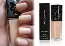Dolce & Gabbana körömlakk Nude árnyalatban
