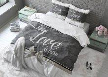 Pure Love pamut ágyneműhuzat garnitúra