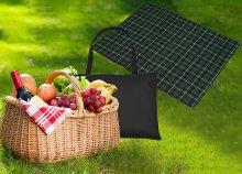KILTY kockás pikniktakaró táskával