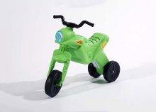 Maxi Enduro vagány, egyszerű felépítésű, műanyagból készült két lábbal hajtható kismotor
