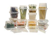 20 részes műanyag tárolódoboz készlet