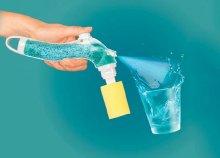 Dish Scrubb tisztító készlet cserélhető fejekkel