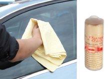 Szintetikus törlőkendő autómosáshoz, ápoláshoz