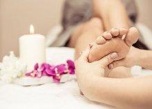 60 perces terápiás talpmasszázs a belvárosban