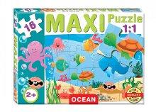 16 db-os, nagy méretű baby puzzle