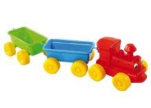 Vonat két kocsi szerelvénnyel