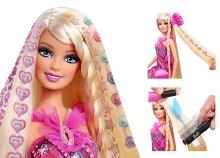 Barbie varázslatos tincsek hajszalon szett