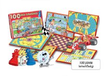 100 féle társasjáték egy dobozban