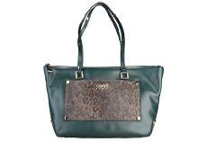 Cavalli Class - Tilda sötétzöld, nagyméretű, női bevásárlótáska
