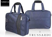 Minőségi, divatos Trussardi, márkajelzéssel ellátott laptoptáska