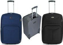 Benzi kétkerekes bővíthető vászonbőrönd háromféle színben