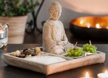 Homania zen kert Buddha dekorációval