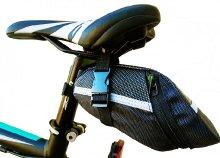 Ülés alá helyezhető kerékpár táska