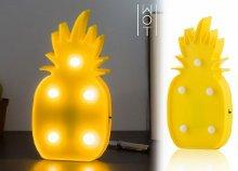 5 LED-es Wagon Trend LED Ananász fali lámpa