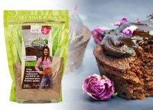 Szafi fitt étcsokoládé ízű muffin lisztkeverék édesítőszerrel 280 g-os kiszerelésben