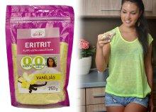 250 g-os Szafi fitt vaníliás ízű eritrit