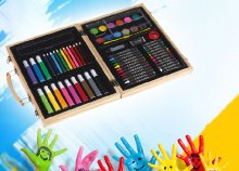 GAUDY művész színező készlettel