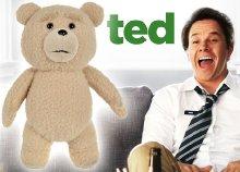 29 cm-es TED filmből megismert mackó hanggal