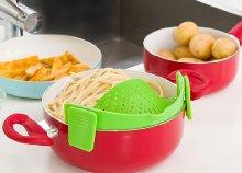 InnovaGoods Kitchen Foodies szilikon szűrő