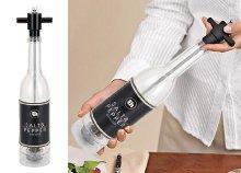 Üveg formájú só- és borsörlő