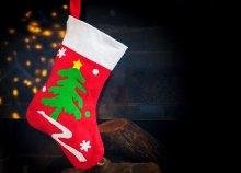 31 cm-es karácsonyi zokni