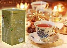 Bio karácsonyi teák ünnepi fémdobozban többféle ízesítésben