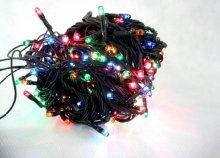 300 LED-es színes, beltéri fényfüzér