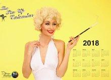 Szerepelj egy Pin-up naptáron - profi fotózás