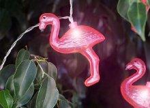 Flamingós LED girland
