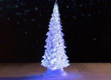 LED-es mini karácsonyfa