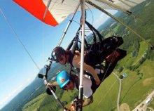 Lélegzetelállító páros élmény! 25 perces repülés 2 főnek motoros sárkányrepülővel, profi pilótával